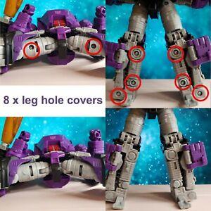 Galvatron Leg Hole Cover Filler Fix Upgrade Kit Transformers Kingdom WFC-K28