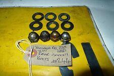 YAMAHA RD 250 RD250 (1A2) arrière amortisseur boulons vélo breakers Fife # 244
