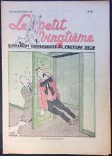 TINTIN THE Petit Vingtième n°36 du 8 september 1938 Very good condition