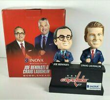 Washington Capitals Inova Bobblehead JOE BENINATI and CRAIG LAUGHLIN NHL Hockey
