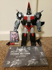 Transformers Titans Return Sky Shadow leader class complete TR black generations