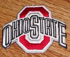 "NEW Ohio State University OSU Buckeyes Patch Logo Script Iron-On 2.4""x2.7"" *R4"
