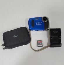 Fujifilm FinePix XP55WM Water/Shock/Freeze Proof Digital Camera  With Extras