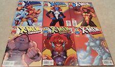 X-Men Forever #1 2 3 4 5 & 6 (2001) Fabian Nicieza - Iceman Mystique Juggernaut