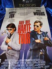 AUF die HARTE TOUR - Michael J. Fox -Poster A0(80x120cm Kino- Film-Plakat F7e
