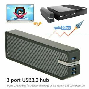 For Xbox One HDD Adapter USB 3.0 External Memory Data Storage Bank Expand Black