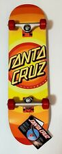 "SANTA CRUZ GLEAM Dot Full Complete 8.0"" Assembled Skateboard Bullet Trucks OJs"