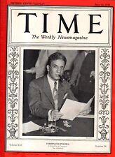 1933 Time June 12 - Hitler unveils Unemployment Plan; Duke Ellington; Midget