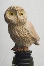 Barn Owl Wine Saver Bottle Stopper Novelty Cake Decoration In Gift Box