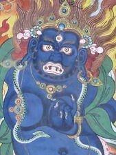 Thangka Obra maestra de la Mongolia Tibet , Vajrapani