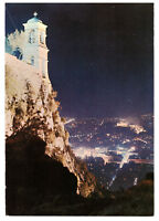Athens, Greece: View From Lycabettus at Night. Rare Picture Postcard