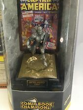 Captian America Marvel Comic Book Champions Fine Pewter Ltd. Edition E-971 NIB