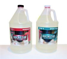 Rockstar Crystal Clear Premium Epoxy Resin 2gallon Kit Uv Protect