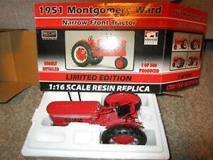 Agco Resin Farm Toy Vehicle NIB Tractor 1951 Montgomery Ward Limited Edition