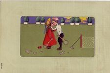 A KISS AT THE NET - TENNIS LOVERS embossed