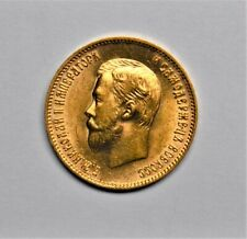 New Listing1903 Russia 10 Rouble Gold Coin Brilliant Uncirculated