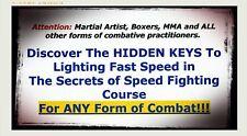 Martial Arts Speed Training - Gm Jim Brassard