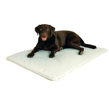 "Cooling Dog Bed, Gray Dog Bed, Large Dog Bed 32x44"" Indoor Outdoor Dog Bed"