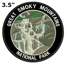 Great Smoky Mountains National Park Embroidered Patch Iron / Sew-On Souvenir