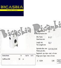 10046 - PISTÓN COMPLETO SEGMENTOS DE DM 39,6 PARA CILINDRO ATALA 50 CALIFFONE VM