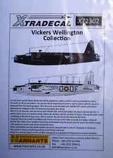 Xtradecal 1/72 X72302 Vickers Wellington Mk I Decal Set