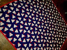 RARE Badminton Shuttlecocks (birdie) Blanket