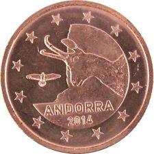 Pièces euro pour 5 cent année 2014