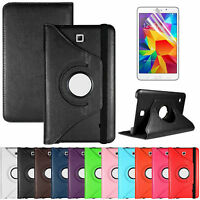 360 Rotating Leather Stand Case Folio Cover For Samsung Galaxy Tab S 8.4 T700
