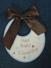 Shh! Baby Sleeping wall / door hanging