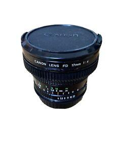 Canon 17mm FD EF CONVERSION F4 K35