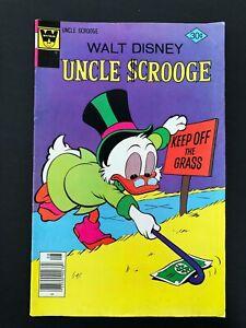 WALT DISNEY'S UNCLE SCROOGE #143 WHITMAN COMICS 1977 VF-