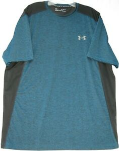 Under Armour men's short sleeve UA raid HeatGear athletic/gym T-shirt size XL