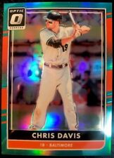CHRIS DAVIS 2016 Donruss Optic AQUA Parallel #104 [283/299] - BALTIMORE ORIOLES