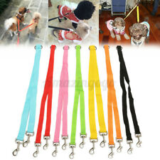 """20"""" Double Dog Lead Leash Rope Coupler Dual Large Small Dogs Walking Splitter !"""