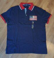 Ralph Lauren Polo Herren Poloshirt, Polo, Original, Custom Slim Fit Größe: Large