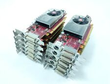 10x Bulk Job Lot Dell X398D Radeon HD3450 256MB DMS-59 Low Profile Graphics Card