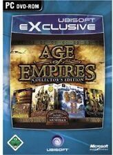PC Computer Spiel Age of Empires 1 + 2 Gold Edition C.E. (AoE I + II + Addon)NEU