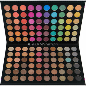 SHANY Ultimate Fusion 120 Color Eye shadow Palette Natural Nude Neon Combination