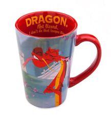 NEW DISNEY STORE MUSHU DRAGON QUOTE COFFEE MUG MULAN