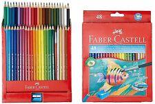 Faber Castell Matite Colorate 48x Multi Set Eco-friendly Pennello Libero