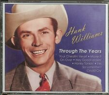 HANK WILLIAMS - THROUGH THE YEARS - 3 CD SET - NEW