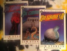GILGAMESH II #1, 2, 3 (1989) - DC Comics (Jim Starlin) *NM