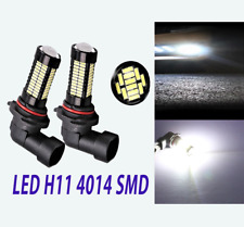 2pcs H11 H8 4014 108 SMD Fog Light LED Daytime Running Light For Chrysler Dodge