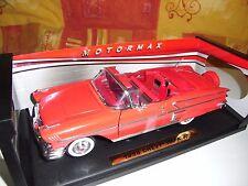 CHEVY IMPALA 1958 RED MOTOR MAX 1:18