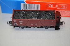 Roco 46280 Offener Güterwagen Bremserhaus Kohleladung Om DRG Spur H0 OVP