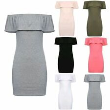 Short Off the Shoulder Dresses for Women with Ruffle