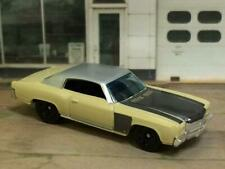 1st Gen 1970–1972 Chevrolet Monte Carlo Unrestored Work in Prog.1/64 Scale I10