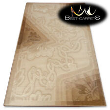 NATURAL WOOL AGNELLA RUGS camea flowers thick and durable carpet