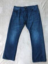 Firetrap, Mens designer, straight fit, blue jeans, waist36, short