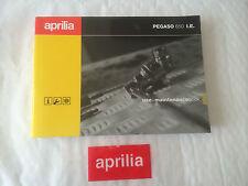 Nuevo Original Aprilia Pegaso 650 i.e 01-04 use+maintenance Libro ap8104312